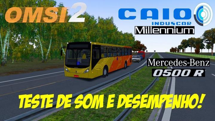 OMSI 2 – TESTES DE SOM MERCEDES-BENZ O-500R NO CAIO MILLENNIUM III O-500M DO LM