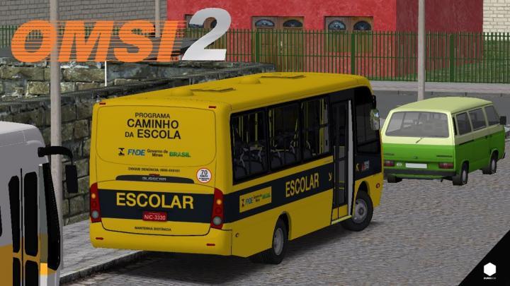 OMSI 2 – BUSSCAR MICRUSS VW 9-150EOD ESCOLAR + SKIN | VALE DO AÇO 3.0 | LINHA 901 [LINKS NA DESCRIÇÃO]