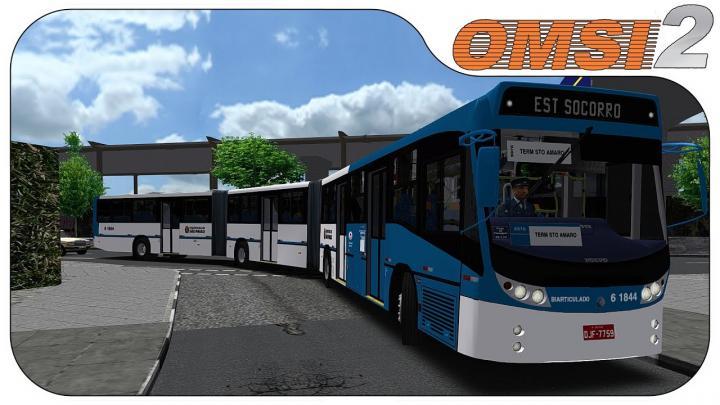 OMSI 2 – Caio TopBus Volvo B12MTX | Grajaú V2 – Linha 6970
