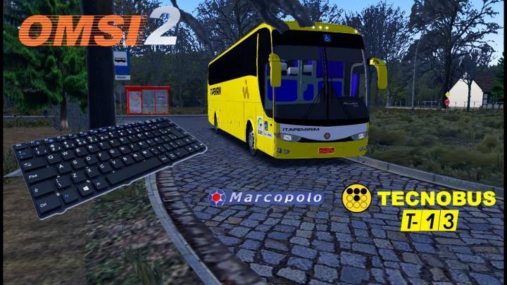 OMSI 2 – MARCOPOLO G6 1200 TECNOBUS T13 NO MAPA FIKCYJNY SZCZECIN!