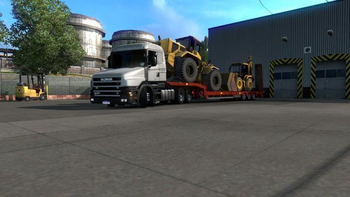 Vida de Caminhoneiro Com SCANIA 124 Carregadeiras Para Jaragua do Sul (Euro Truck Simulator 2)#8
