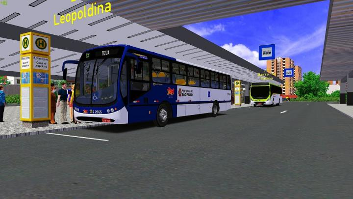 Busscar Urbanuss Pluss Mercedes-Benz OF-1721 (OMSI 2)