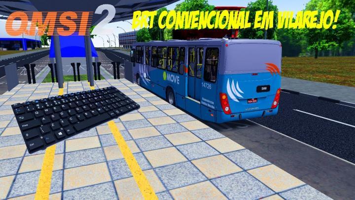 OMSI 2 – BRT CONVENCIONAL EM VILAREJO! MARCOPOLO TORINO 2007 VW 17-230 EOD