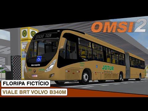 OMSI 2 || Marcopolo Viale BRT Volvo B340M || Floripa Ficticio Linha 052
