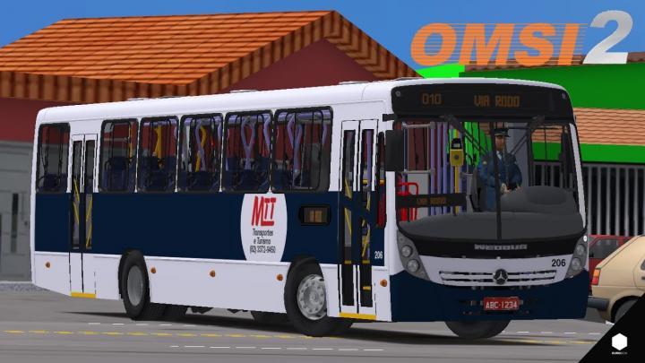 OMSI 2 – NEOBUS MEGA MB OF-1722M + SKIN | MINAS VALE URBANO V2 | LINHA 010