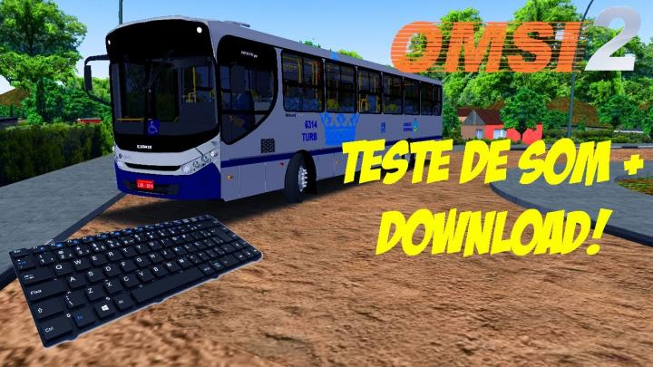 OMSI 2 – TESTE DE SOM SCANIA F250HB + DOWNLOAD!