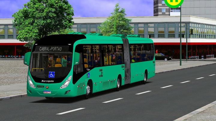 RB604 Expresso São Gabriel Virtual|Marcopolo Viale BRT Volvo B340M|2020