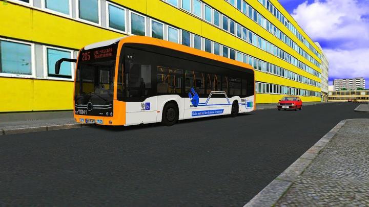 YX041 – Expresso São Gabriel Virtual|Mercedes-Benz eCitaro|2021|OMSI 2|