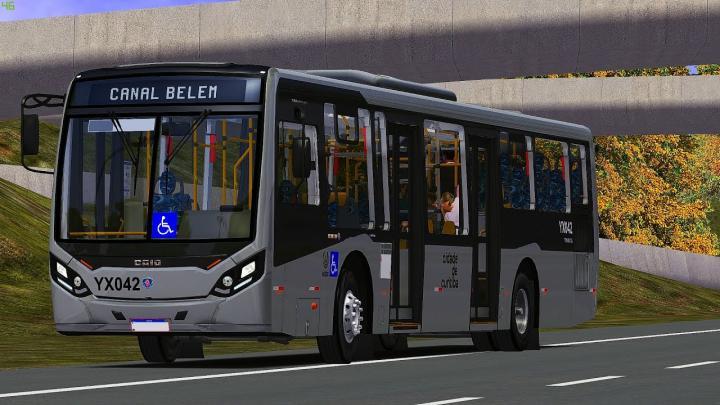 YX042 – Expresso São Gabriel Virtual|CAIO MILLENIUM IV SCANIA K250|2020|OMSI 2|