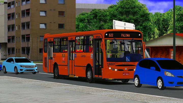 18801 Viação Santo Ângelo|CAIO Apache Vip I Volkswagen 17.260 EOT Ano/Mod: 2007/2008|OMSI 2