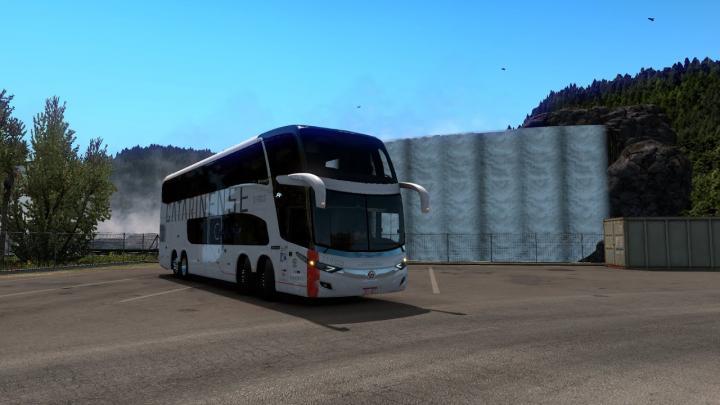 Auto Viação Catarinense|Marcopolo Paradiso NEW G7 1800 DD Mercedes-Benz O-500RSDD BlueTec 5|ETS 2