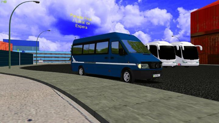 mercedes sprinter 310 (OMSI 2)