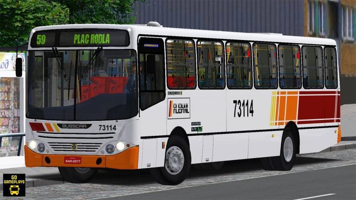 OMSI 2 – Busscar Urbanuss 98 VW 16.210 CO | Projekt Szczecin