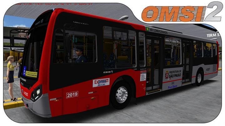 OMSI 2 – Caio Millennium IV Scania K250UB | Projeto Capital – Linha 2002-10