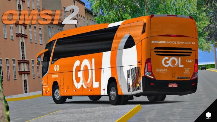 OMSI 2 – MARCOPOLO PARADISO G7 1200 MB O500RS EMPRESA PIRACICABANA + SKIN (GOL) | BR099 | LINHA 01