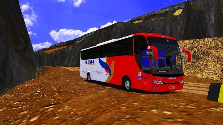 Pluma Conforto e Turismo|Marcopolo Paradiso G6 1200 Volvo B380R|OMSI 2