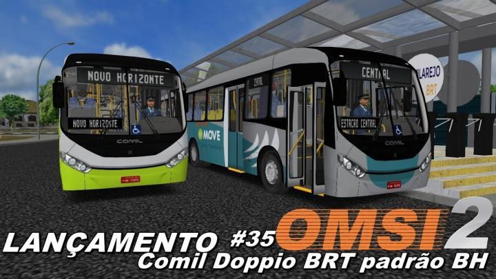 LANÇAMENTO Comil Doppio BRT Padrão BH OMSI 2 #35
