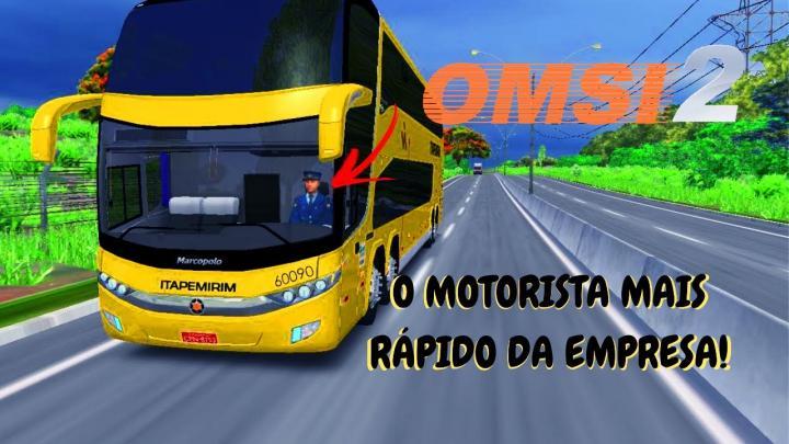 OMSI 2 – O MOTORISTA MAIS RÁPIDO DA EMPRESA! – MARCOPOLO G7 1800 DD O-500RSD BY TESSING