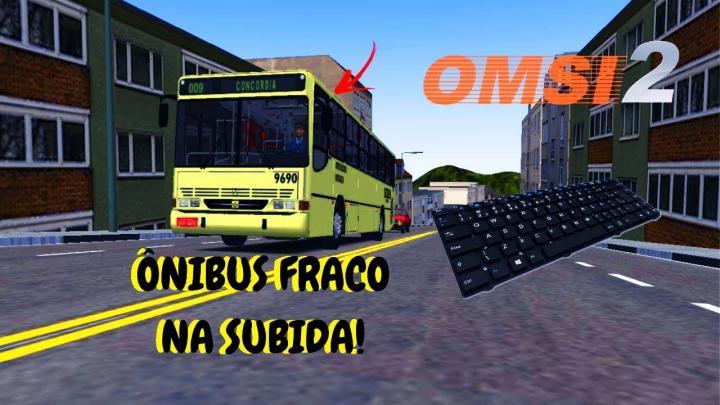 OMSI 2 – ÔNIBUS FRACO NA SUBIDA DO CONCÓRDIA! – BUSSCAR URBANUS 1994 MB OH-1621L