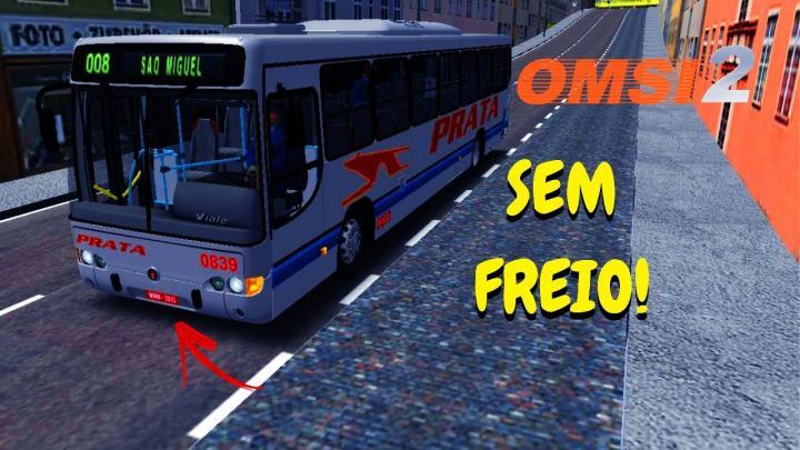 OMSI 2 – ÔNIBUS SEM FREIO NO SÃO MIGUEL! – MARCOPOLO VIALE O-500M