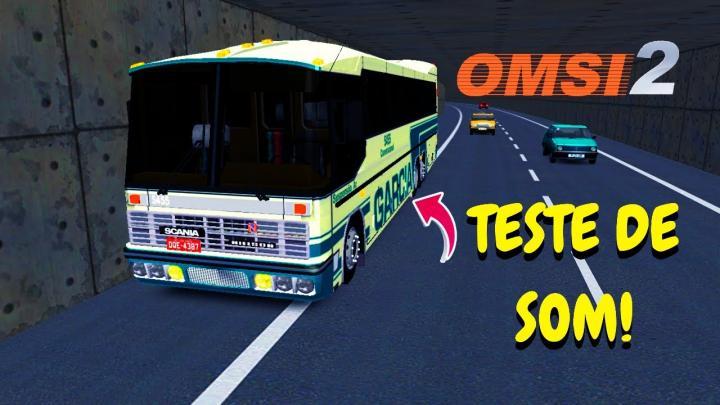 OMSI 2 – TESTE DE SOM SCANIA 112/113 MAÇARICO!