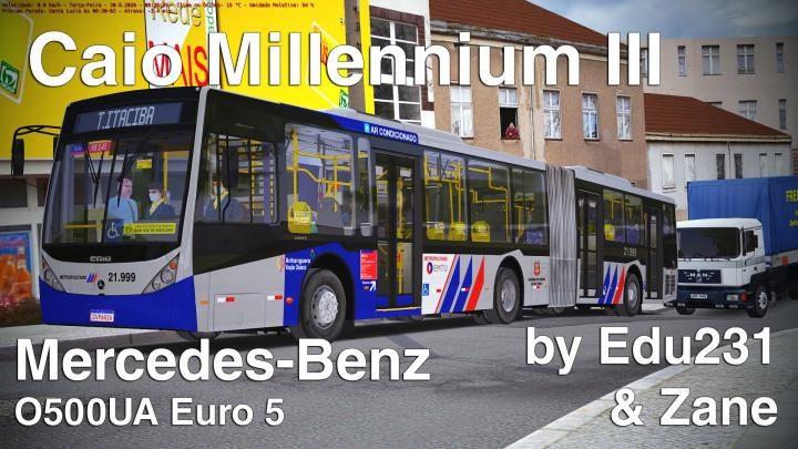 Caio Millennium III MB O500UA by Edu231 & Zane