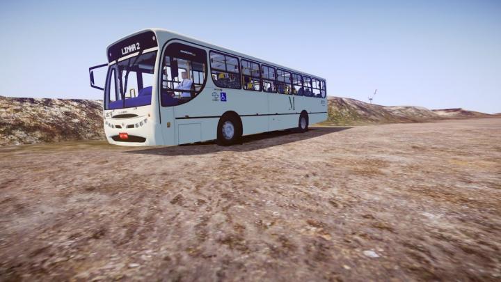 38279 – Expresso São Gabriel Virtual|CAIO Apache Vip I Mercedes-Benz OF-1722M|Proton Bus Simulator