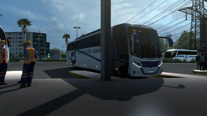 Busscar Vissta Buss 360 Mercedes-Benz O-500RS BlueTec 5 SÃO PAULO PARA SÃO JOSÉ DOS CAMPOS  (ETS 2)