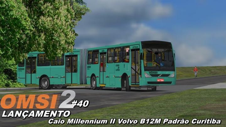 LANÇAMENTO Caio Millennium II Volvo B12M Padrão Curitiba OMSI 2 #40