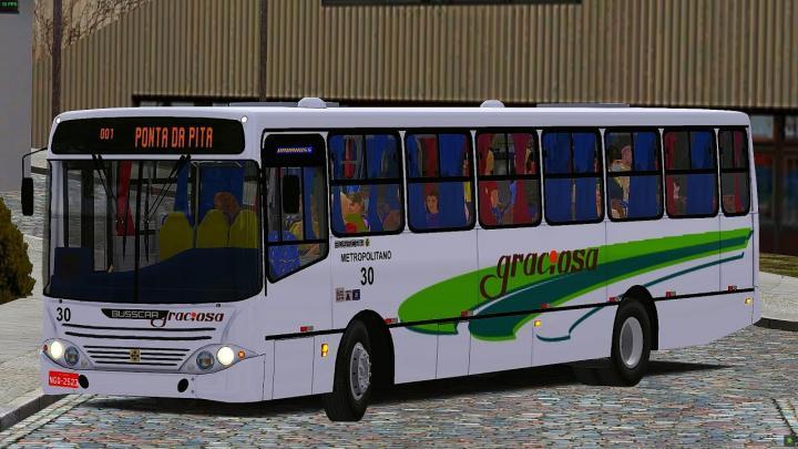 #LANÇAMENTODASEMANA Busscar Urbanuss Volkswagen 16.210 CO (PADRAO JOTUR BY HLN_slv) – OMSI 2