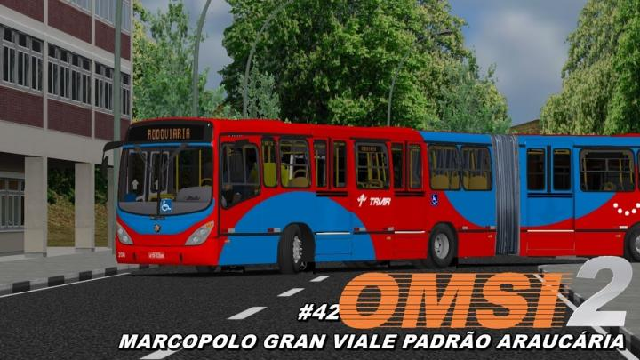 Marcopolo Gran Viale O500MA PADRÃO ARAUCÁRIA (OMSI 2) #42