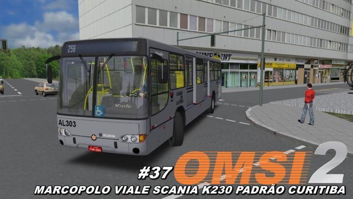 Marcopolo Viale Scania K230 ligeirinho Padrão Curitiba OMSI 2 #37