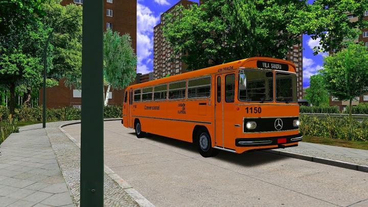 Mercedes Benz Monobloco O-362 Urbano