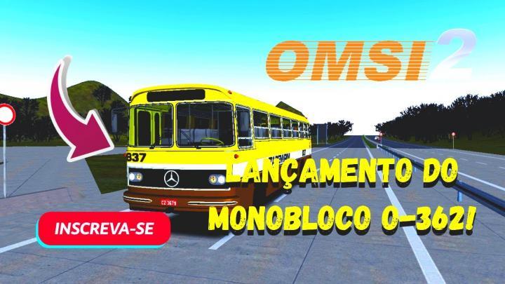 OMSI 2 – LANÇAMENTO! – MB MONOBLOCO O-362 BY AGUIAL DESIGN