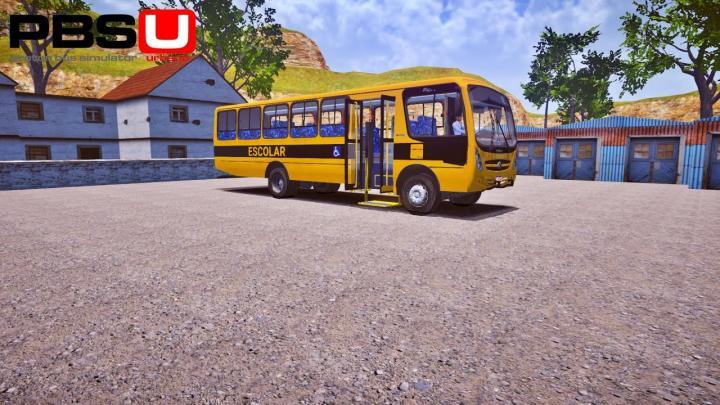 CAIO Foz Escolar VW 15.190 ODR Euro V Proton Bus Simulator