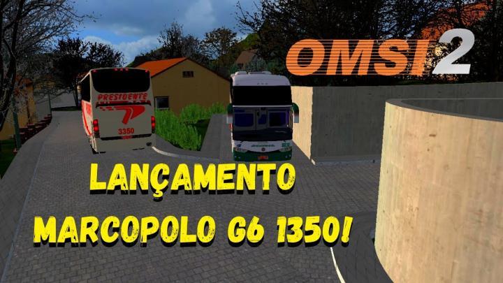 OMSI 2 – LANÇAMENTO! – MARCOPOLO G6 1350 O-400RSD BY POLES – MAA MINAS VALE V5