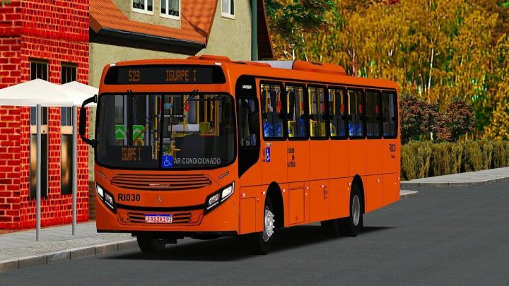 RI030 Expresso São Gabriel Virtual CAIO Apache Vip IV Mercedes-Benz OF-1721L BlueTec 5 20 – OMSI 2