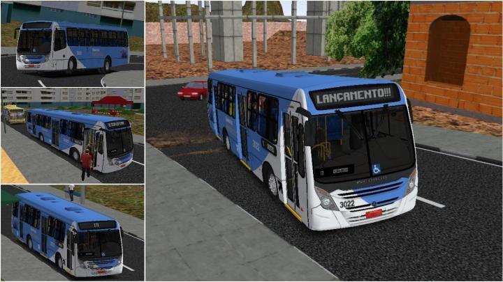 Lançamento Neobus Mega Plus OF-1721 Padrão Cidade das Hortênsias – 3022