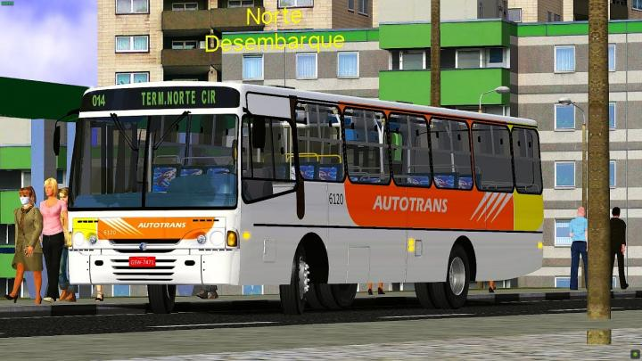 CAIO Alpha Mercedes-Benz OF-1417|OMSI 2