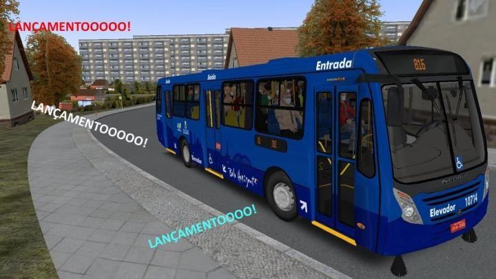 Lançamento Neobus Mega Plus OF-1721 Padrão BH