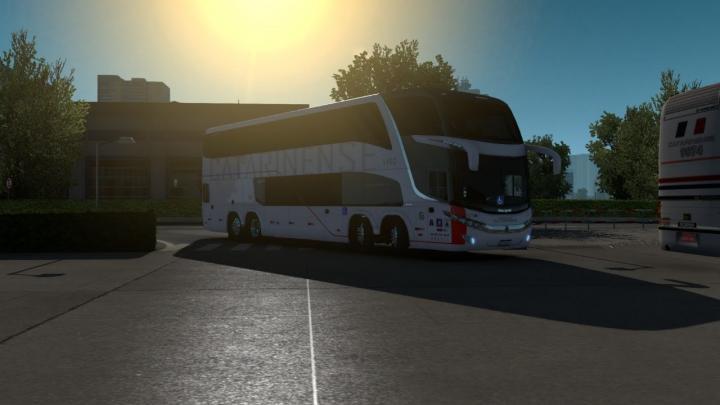 🔴LIVESTREAM|Marcopolo Paradiso G7 1800 DD Scania K440IB 8×2 DE BALNEÁRIO CAMBORIÚ, SC PARA SANTOS