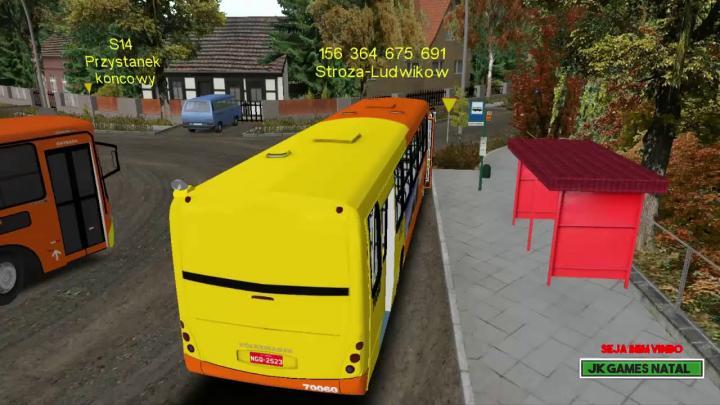 Mais Um dia de Trabalho L156 Carro Quebrou na Ultima Volta Mapa Fikcyjny Szczecin