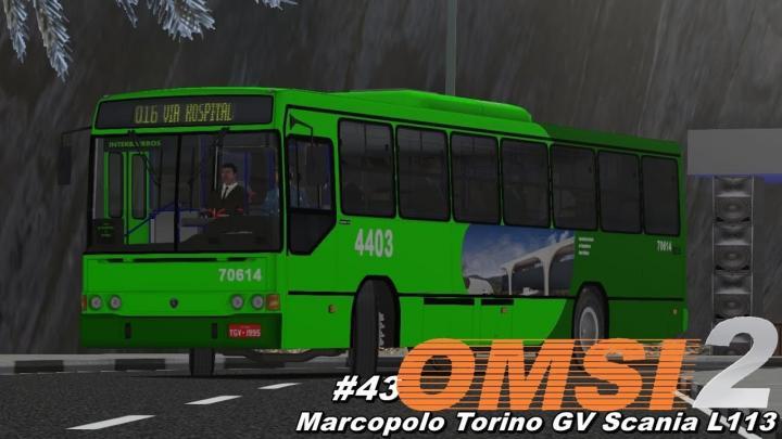 Marcopolo Torino GV Scania L113 OMSI 2 #43