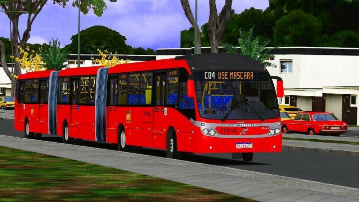 17E16 Expresso Azul Neobus Mega BRT 2011Volvo B12M 11 OMSI 2