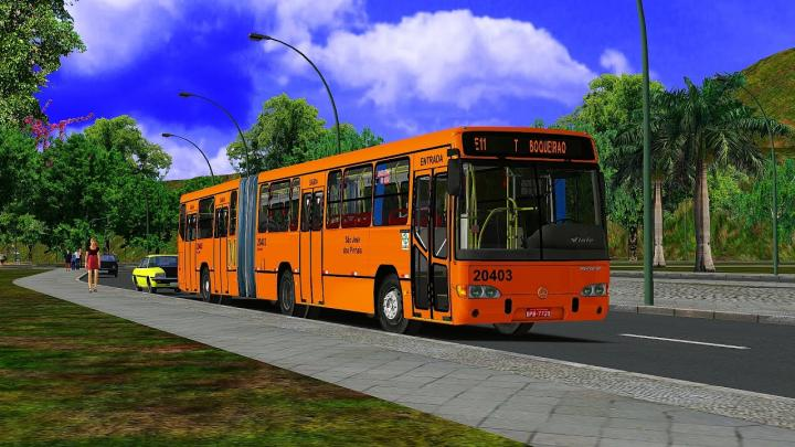 20403 Auto Viação São José dos Pinhais|Marcopolo Viale Articulado Mercedes-Benz O-500MA|2006|OMSI 2