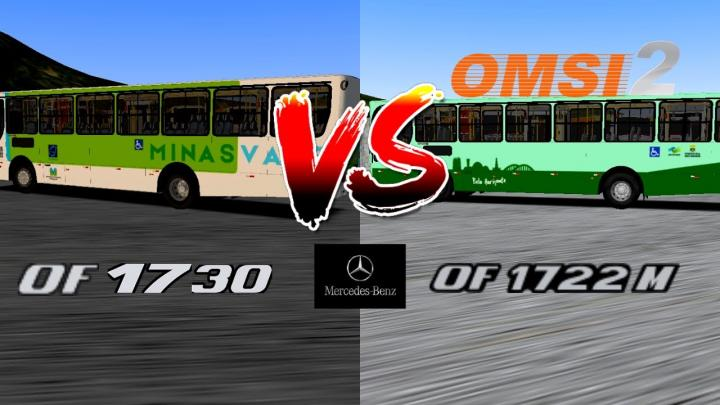 OMSI 2 – TESTE DE SOM MERCEDES BENZ OF-1722M/OF-1730 – CAIO APACHE VIP II