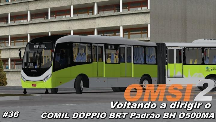 Comil Doppio BRT O500MA Padrão BH I OMSI 2 #46