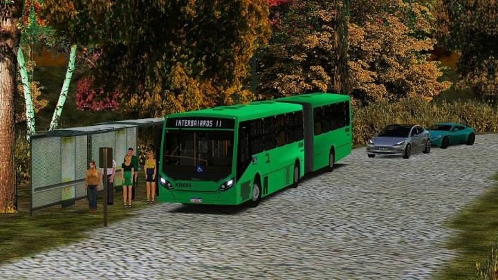 KB606 Viação Tamandaré|CAIO Millennium IV Volvo B340M|19|OMSI 2