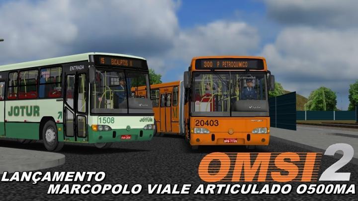 LANÇAMENTO MARCOPOLO VIALE O500MA OMSI 2 #52