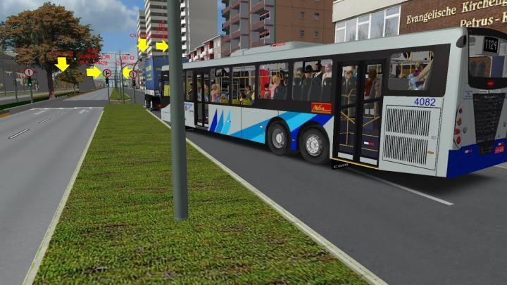 Mapa Estrela Dalva BRT L1124 CAIO Induscar Mondego H Scania K310UB Voith